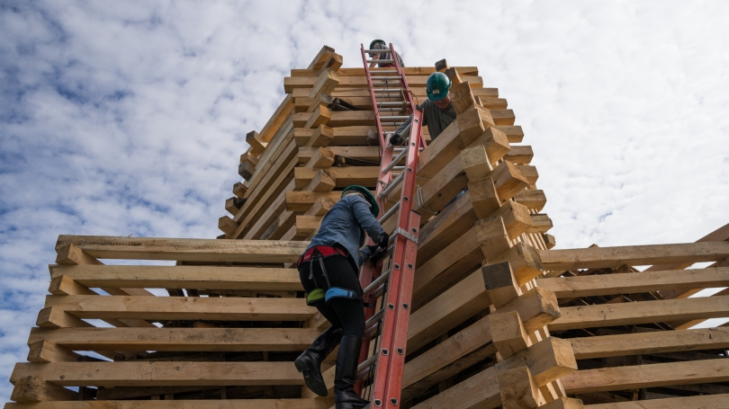 Building the Bonfire Up the Ladders