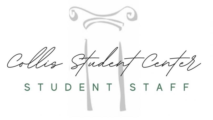 Collis Student Center Student Employee Logo