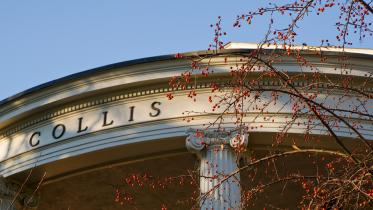 Collis in the fall