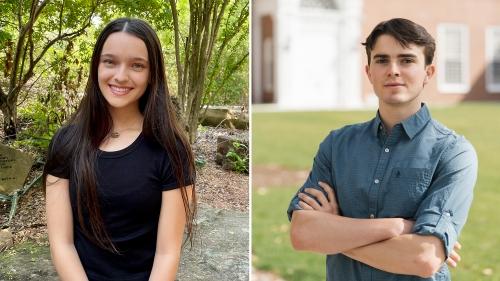 Carolina Guerrero '23 and Ian Stiehl '22 have been named Goldwater Scholars