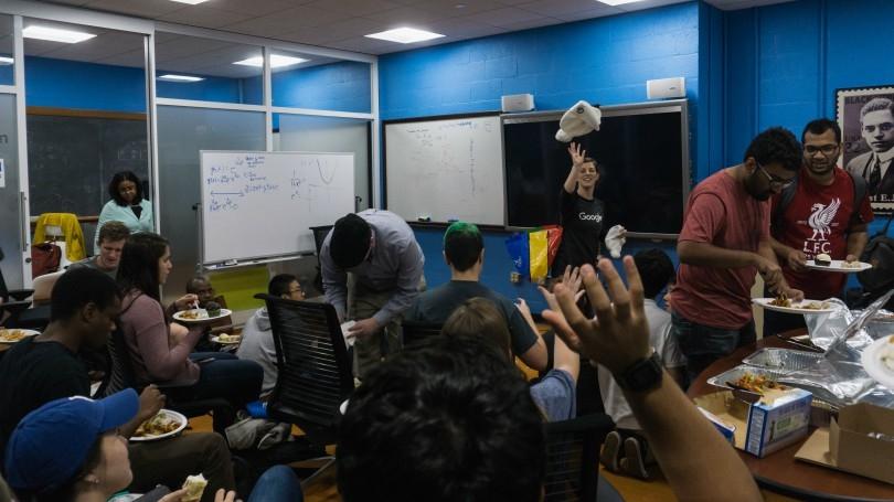 Google research scientist visits E.E. Just Program