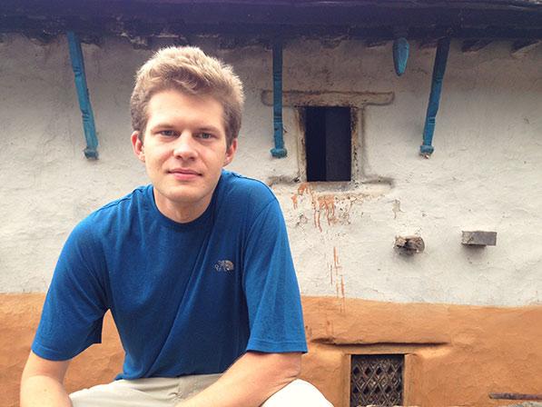 Peter Sutoris in Nepal