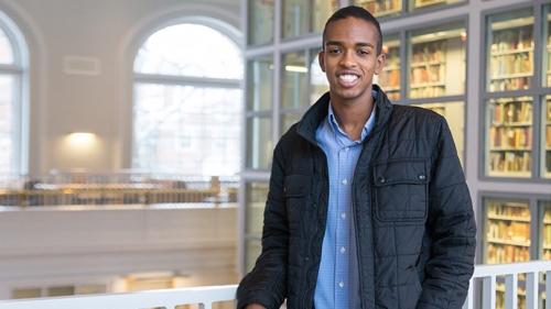 Ridwan Hassen '15 Named Rhodes Scholar