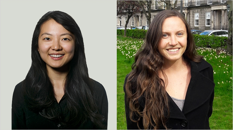 Claire Park '16 and Annelise Sauter Ortiz '16