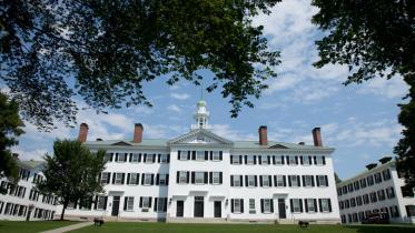 Dartmouth Hall in Summer