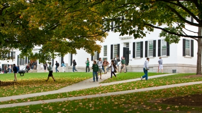 Dartmouth campus in Fall.