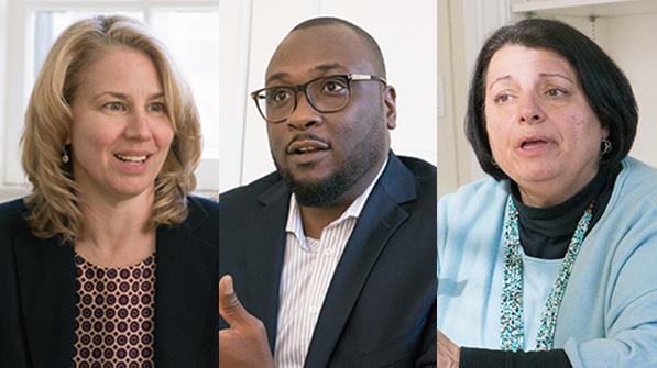 Denise Anthony, Ahmed Mohammed, Inge-Lise Ameer