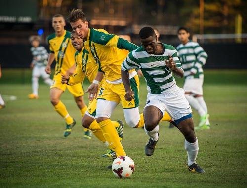 Men's soccer versus UVM 2013
