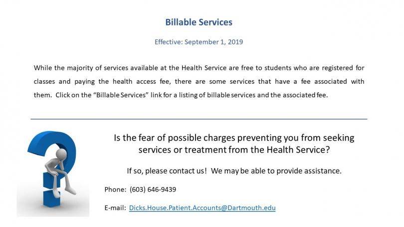 Billable Services