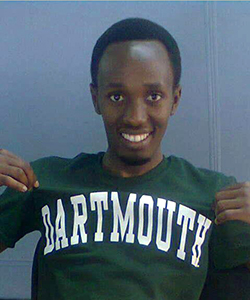 Eric Iradakunda '17 of Rwanda