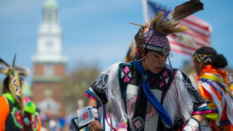 Native-American dancer