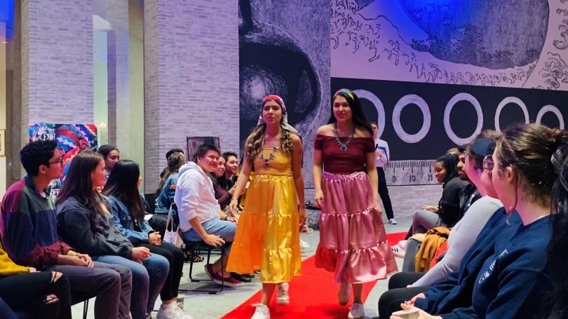 NAD fashion show