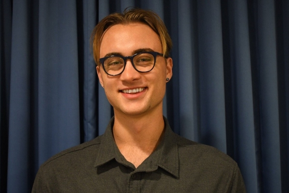 Evan Barton '20, an Indigenous student peer advisor, recently organized an online networking event with alumni.