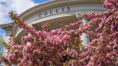 A photo of Collis in the spring