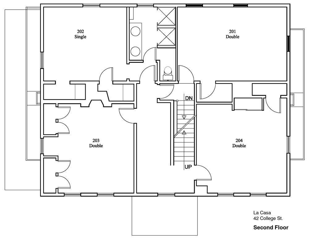 la casa floor