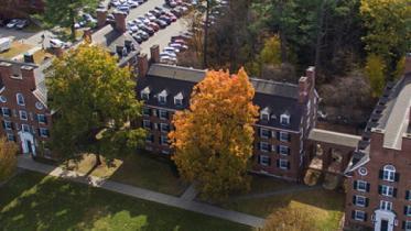 Allen House aerial