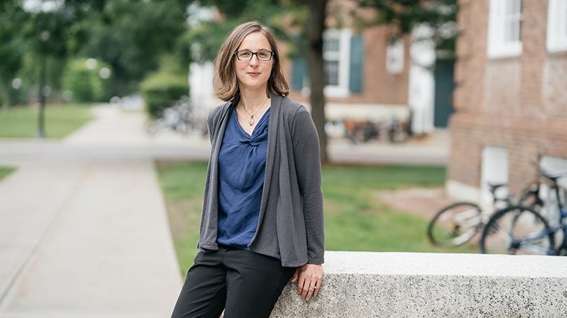 Janice McCabe, associate professor of sociology and Allen House professor