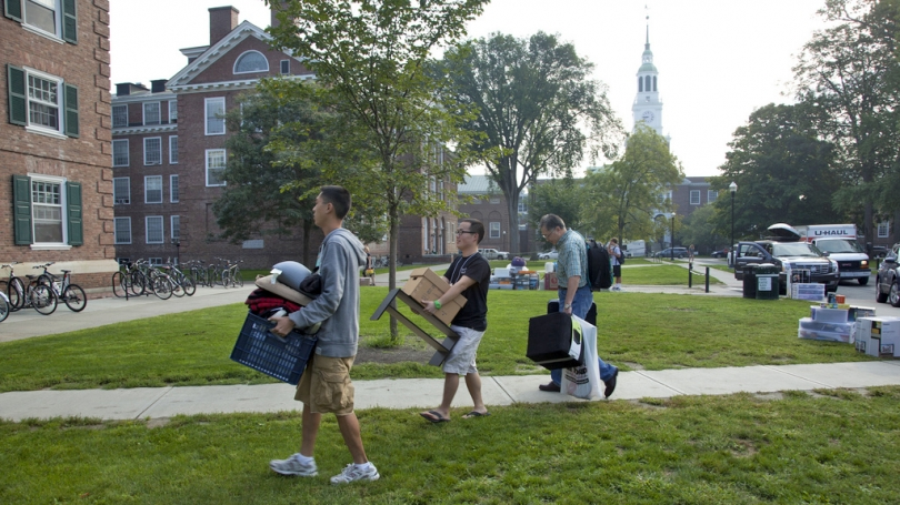 A new Dartmouth family moves into Russell Sage.