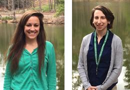 Alison Mercier and Emily Forbes-Mobus, 2015-2016 Schweitzer Fellows