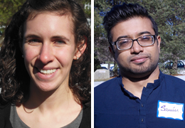 Amy Schumer and Syed Shebab, 2014-2015 Schweitzer Fellows