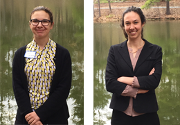 Astia Roper-Batker and Susannah Kricker, 2015-2016 Schweitzer Fellows
