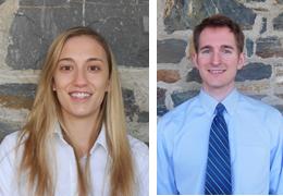 Christine Breuer and Erik Andrews, Schweitzer Fellows 2013 - 2014
