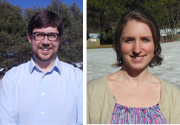 Charles Shockley and Penina Wallace, 2014-2015 Schweitzer Fellows