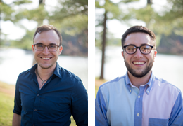 Charles Wallace and Ryan Masters, 2016-2017 Schweitzer Fellows
