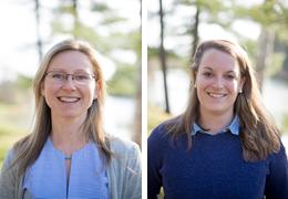Courtney Hanlon and Hannah Systrom, 2016-2017 Schweitzer Fellows