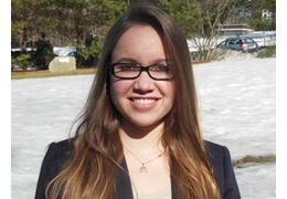 Cristina Alcorta, 2014-2015 Schweitzer Fellow