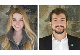 Emily Donaldson and Ben Canellys, 2018-2019 Schweitzer Fellows