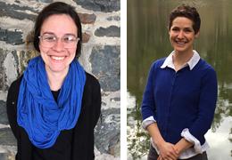 Emily Ryan and Julia Shatten, 2015-2016 Schweitzer Fellows