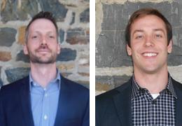 Ben Gustafson and Charlie Becker, Schweitzer Fellows 2013 - 2014