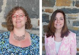 Juli Hincks and Courtney Grey, Schweitzer Fellows 2013 - 2014