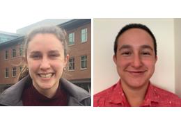 Erin Hunt and Russell Himmelstein, 2017-2018 Schweitzer Fellows