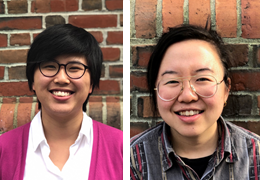 Isabelle Yang and Angie Lee, 2019-2020 Schweitzer Fellows