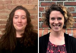 Julia MacDonald and Kalin Gregory-Davis, 2019-2020 Schweitzer Fellows