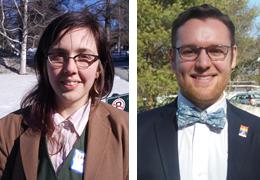 Leah Cipri and Matthew Shear, 2014-2015 Schweitzer Fellows