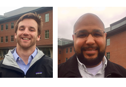 Lucas Mayer and Chad Lewis, 2017-2018 Schweitzer Fellows