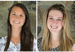 Maryann Kelly and Hannah Woodruff, 2018-2019 Schweitzer Fellows