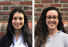 Rosie Friedman and Emi Eakin, 2019-2020 Schweitzer Fellows