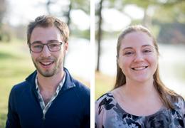 Ryan Landvater and Julia McGinty, 2016-2017 Schweitzer Fellows