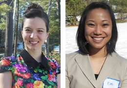 TingJia Lorigiano and Emi Manuia, 2014-2015 Schweitzer Fellows