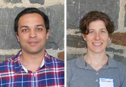 Muhammad Zain-ul-Abideen and Charis Ripley-Hager, Schweitzer Fellows, 2013 - 2014