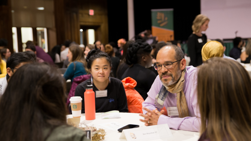 Guest and Students Discussion, Breaking the Mold Conference, Social Impact, Dartmouth