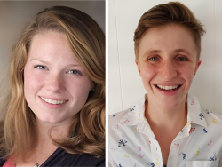 Emma Fitzsimmons and Maya Ellis, NH-VT Schweitzer Fellows 2021-2022
