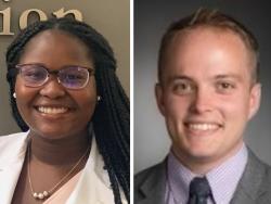 Jack Steinhartner and Mialovena Exume, NH-VT Schweitzer Fellows 2021-2022