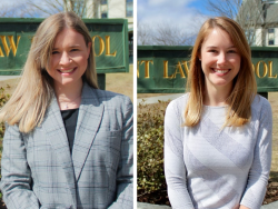 Tommi Mandell and Caitlin Kennedy, NH-VT Schweitzer Fellows 2021-2022