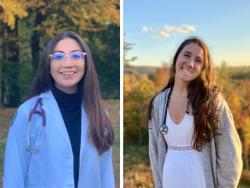 Torri Lee and Jessica Lee, NH-VT Schweitzer Fellows 2021-2022