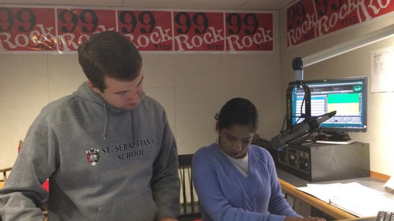 Students in Dartmouth Broadcasting operate the radio station.